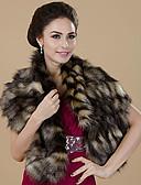 billige Modetørklæder-Dame Elegant Uendelighedshalstørklæde Regnbue