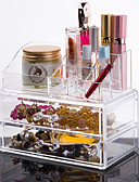 cheap Wedding Dresses-Makeup Cosmetics Storage Makeup 1 pcs Acrylic / Plastic Classic Daily Cosmetic Grooming Supplies