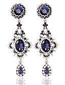 cheap Women's Hats-Women's Hoop Earrings - Fashion Jewelry Blue For Wedding