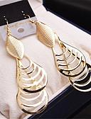 hesapli Gece Elbiseleri-Kadın's - Altın Kaplama Moda Altın / Gümüş Uyumluluk Düğün / Parti / Günlük