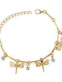 ieftine Rochii de Domnișoare de Onoare-Pentru femei Brățări cu Talismane - Animal Modă Brățări Auriu Pentru