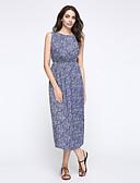 זול שמלות נשים-גיזרה גבוהה דפוס שמלה שיפון סווינג מידות גדולות בגדי ריקוד נשים