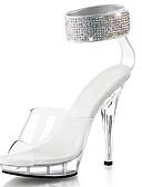 cheap Women's Dresses-Women's Shoes Glitter / PVC(Polyvinyl chloride) Summer / Fall Light Up Shoes / Club Shoes Heels Stiletto Heel / Platform / Translucent