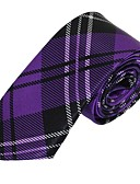 cheap Men's Ties & Bow Ties-Men's Party Work Basic Polyester Necktie - Striped