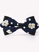 cheap Men's Ties & Bow Ties-Men's Party / Work / Basic Cotton Bow Tie - Floral Print