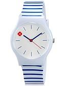 abordables Relojes de Moda-Reloj de Pulsera Cool / Colorido Plastic Banda Caramelo / Casual Azul