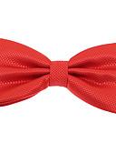 olcso Férfi nyakkendők és csokornyakkendők-Férfi Jacquardszövet Poliészter, Party Munkahelyi Alap - Csokornyakkendő