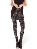 voordelige Damesleggings-Dames Print Legging Print Medium Taille / Skinny