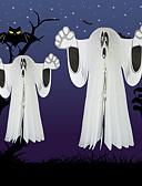 povoljno Maske za mobitele-Halloween duhova kostur objesiti ukras za bar kluba Halloween party lubanje privjesak platno dom deco Halloween rekvizit