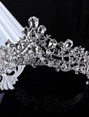 baratos Vestidos de Mulher-Imitação de Pérola Strass Liga Tiaras 1 Casamento Ocasião Especial Casual Capacete