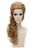 abordables Jerséis y Cardigans de Hombre-Pelucas sintéticas / Pelucas de Broma Ondulado Grande Pelo sintético Marrón Peluca Mujer Larga / Muy largo