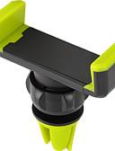 זול מחזיקים ומרכבים-רכב אוניברסלי / טלפון סלולרי אוורור אוויר הר לעמוד מחזיק 360 ° סיבוב אוניברסלי / טלפון סלולרי ABS מחזיק