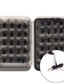 abordables Relojes Brazalete-40 pcs Moscas Cebos Moscas Plástico duro Pluma Acero de carbono Múltiples Funciones Pesca a la mosca Pesca en General Pesca de Cebo