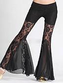hesapli Göbek Dansı Giysileri-Göbek Dansı Alt Giyimler Kadın's Performans Polyester / Dantelalar Dantel Doğal Pantalonlar