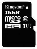 povoljno Kompletići za djevojčice-Kingston 16GB Micro SD kartica TF kartica memorijska kartica UHS-I U1 Class10