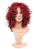 cheap Socks & Hosiery-fashion rihanna charming kinky curly wigs african american kinky curly wine red short wigs synthetic hair for black women
