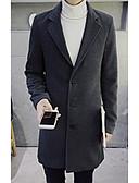 billige Herrejakker og -frakker-Moderne Stil, Herre Ensfarvet Chic & Moderne