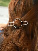 billige Moderigtige hårsmykker-Dame Vintage Sødt Fest Smykker Hårclips - Messing