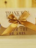 abordables Soportes para Regalo-Almohada Papel de tarjeta Soporte para regalo  con Pajarita Cajas de regalos Cajas de Regalos Jarros y Botellas de Caramelos