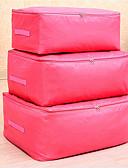 billige Kjoler i plusstørrelser-fiberduk Oval Reisen Hjem Organisasjon, 1pc Oppbevaringsposer