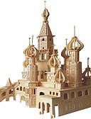 abordables Chaquetas y Abrigos de Hombre-Puzzles de Madera Cisne / Castillo Nivel profesional De madera 1 pcs Niños Chico Regalo