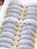 billige Kjoler-Øyenvipp Sminkeredskap Løsvipper 20 pcs Hevede Vipper Volumisert Ekstra Lang Fiber Daglig Fulle øyevipper Naturlig lange Endekanten er lengre - Sminke Hverdagssminke kosmetisk Pleieutstyr