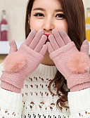 cheap Fashion Hats-Women's Cute Party Wrist Length Fingertips Gloves