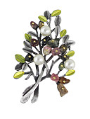 cheap Women's Coats & Trench Coats-Women's Brooches - Fashion Brooch Silver For Casual