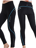 cheap Women's Outerwear-Nuckily Women's Cycling Tights - Blue / Pink / Grey Bike Tights, Thermal / Warm, Quick Dry, Breathable Polyester