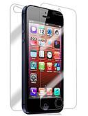 halpa iPhone kotelot-Näytönsuojat varten Apple iPhone 6s / iPhone 6 / iPhone SE / 5s 2 kpls Näytön- ja takakannen suoja