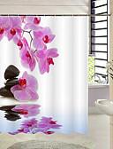 お買い得  レディースアウター-シャワー用カーテン 新古典主義 ポリエステル 花 / 植物 機械製