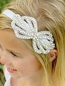 זול אביזרים לילדים-אביזרי שיער כל העונות רצועות ראש כותנה תחרה בנות בנים - לבן ורוד מסמיק בז'