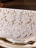abordables Corbatas y Pajaritas para Hombre-Envuelve y Guarda Invitaciones De Boda Otros Tarjetas de invitación Clásico Material Papel de tarjeta Flor