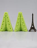 baratos Calcinhas-Ferramentas bakeware Silicone Amiga-do-Ambiente / Anti-Aderente / Férias Bolo / Biscoito / Cupcake Ferramenta de decoração