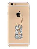 preiswerte Abendkleider-Hülle Für Apple iPhone 8 / iPhone 8 Plus / iPhone 7 Ultra dünn / Muster Rückseite Spaß mit dem Apple Logo Weich TPU für iPhone 8 Plus / iPhone 8 / iPhone 7 Plus