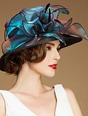 preiswerte Abendkleider-Flachs / Seide / Organza Kentucky Derby-Hut / Hüte / Kopfbedeckung mit Blumig 1pc Besondere Anlässe / Normal / Draussen Kopfschmuck
