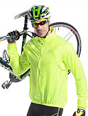 ieftine Rochii de Domnișoare de Onoare-Mysenlan Bărbați Jachetă Cycling Bicicletă Jachetă / Topuri Keep Warm, Uscare rapidă, Rezistent la Vânt Mată Verde Deschis Îmbrăcăminte