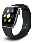 cheap Smart Activity Trackers & Wristbands-Smart Watch iOS Android GPS Touch Screen Heart Rate Monitor Pedometers Health Care Camera Alarm Clock Information Hands-Free Calls Find