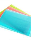 billige Herreskjorter-4 stk. Antibakteriell kjøleskapslimematte kutt-til-måle skap skuff skuffe