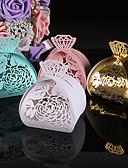 baratos Suporte para Lembrancinhas-Criativo Papel Pérola Suportes para Lembrancinhas com Estampa Caixas de Ofertas
