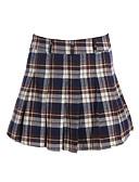 preiswerte Damen Röcke-Damen Street Schick A-Linie Röcke - Verziert