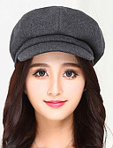 cheap Mother of the Bride Dresses-Women's Vintage Beret Hat - Solid Colored