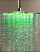 abordables Ropa Interior y Calcetines de Hombre-Moderno Ducha lluvia Cromo Característica - LED, Alcachofa de la ducha