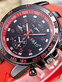 baratos Relógios da Moda-Homens Relógio de Moda Relogio digital Quartzo Digital PU Banda Analógico Casual Preta / Branco / Azul - Vermelho