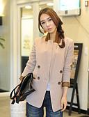 cheap Women's Blazers-Women's Suits - Solid Colored Shirt Collar