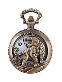abordables Relojes de Bolsillo-Hombre Reloj de Bolsillo / Reloj de Pulsera Reloj Casual Aleación Banda Encanto / Moda Bronce