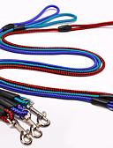 رخيصةأون ساعات فاخرة-كلب المقاود / حزام للكلب قابل للسحبقابل للتعديل أزرق / لون عشوائي / أخضر غامق