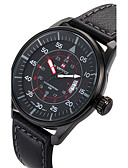 cheap Sport Watches-NAVIFORCE Men's Sport Watch Wrist Watch Quartz Black / Brown Calendar / date / day Cool Analog Luxury Casual Fashion - Black Brown Two Years Battery Life / Maxell SR626SW