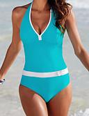 preiswerte Bikinis und Bademode 2017-Damen solide Einteiler - Moderner Stil / Reine Farbe, Solide