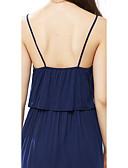 hesapli Kadın Elbiseleri-Kadın's Kılıf Elbise - Solid, Arkasız Midi